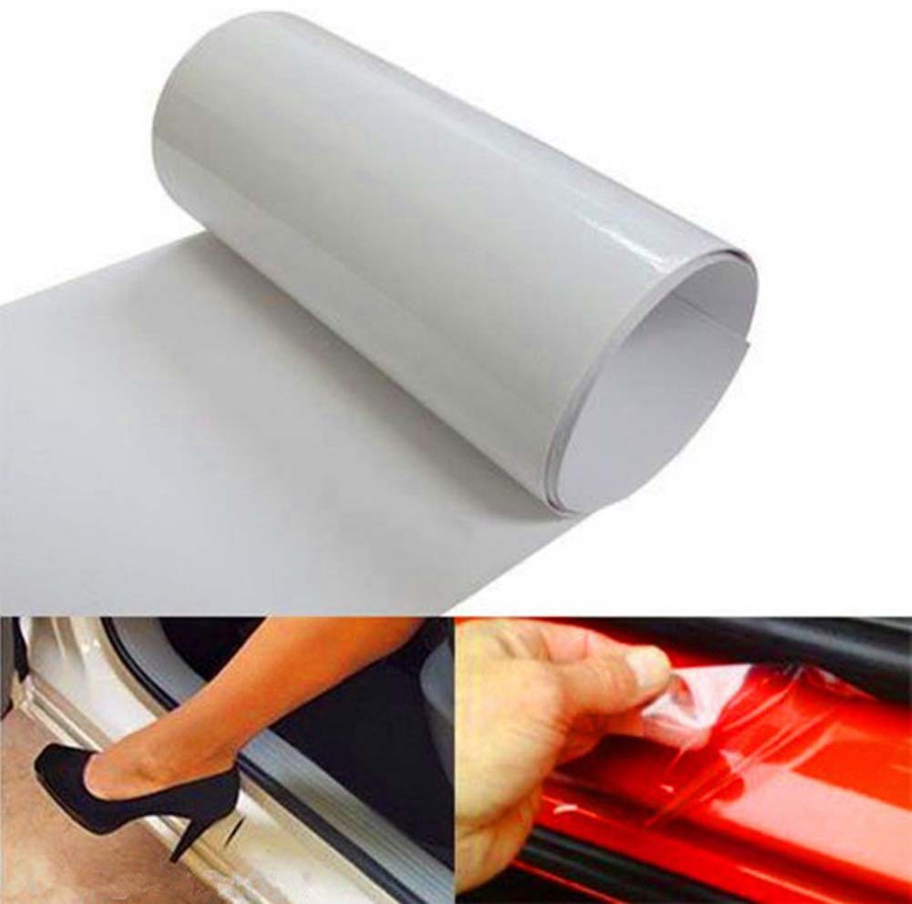15*150cm Clear Car Door Sill or Edge Paint Protection Scratch Film Vinyl Sheet