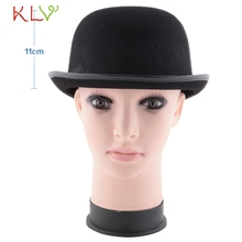 New Summer Style Brand High Quality Hybrid fiber Black Magic cap Halloween Hat Jazz Hat Tops Hats Selling ~1