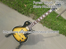 Vintage Sunburst LP Guitars Tiger Flame Finish LP Custom Electric Guitar Left Handed Custom Available(China)