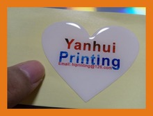 shape adhesive epoxy dome sticker label printing custom