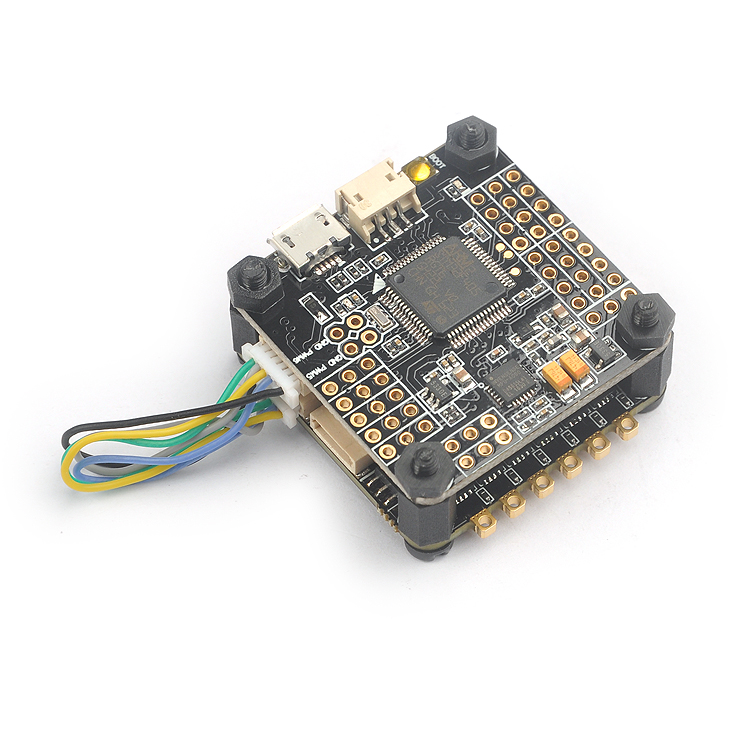 BS430 ESC 30A 4 in 1 BLHeli-S firmware Dshot 3-6S Omnibus F3 F4 Fly-tower Speed Controller for RC FPV Racer Camera Drone F21084