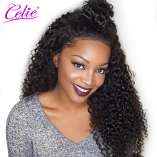 CELIE Hair Malaysian Curly Hair Bundles 100g/Piece 100% Human Hair Bundles Natural Black Color Remy Hair Weave 10-28 inch