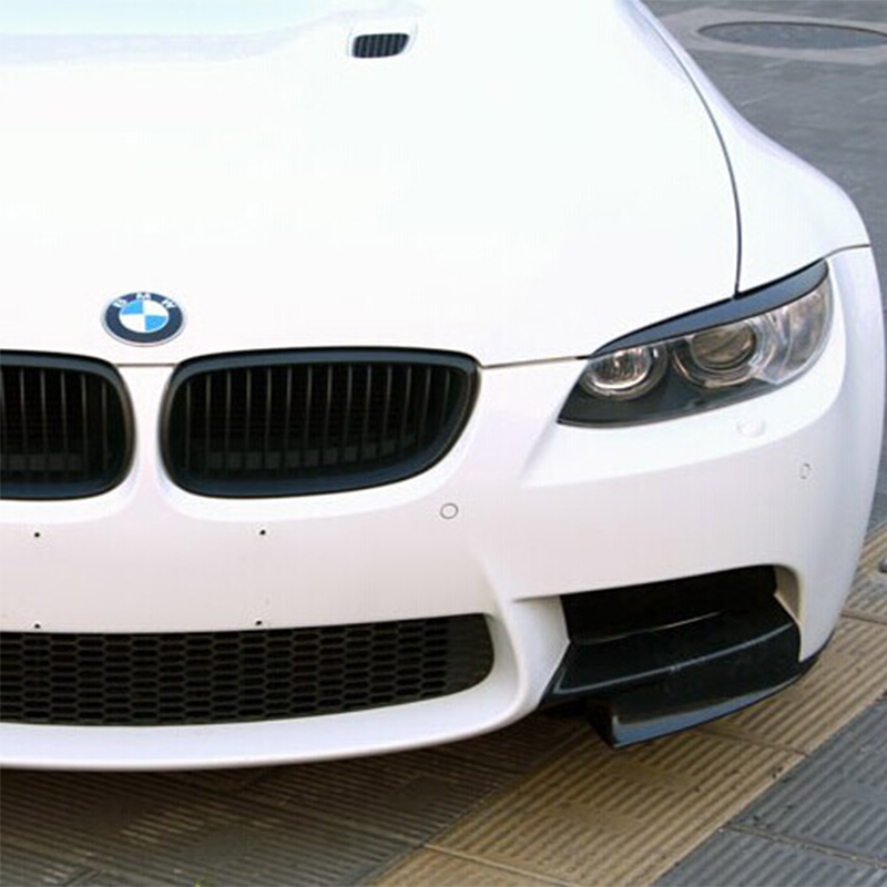 For BMW E92 E93 m3 Carbon Fiber Front Headlamp Eyebrows Eyelids Headlights 2005-2012 Lumma style<br>