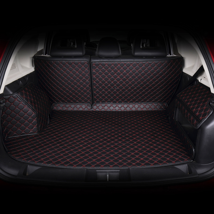 dedicatef full surrounded car trunk  mats for Hover H1 H2 H3 H5 H6 H9 Great Wall M4 Chuan Qi GS5 surrounded by leather<br><br>Aliexpress