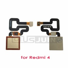 1pcs For Xiaomi Redmi 4 Fingerprint scanner Key Recognition Sensor Flex Cable Ribbon for Xiaomi Redmi 4 Pro Redmi4 Pro(China)