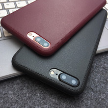 Buy iPhone 7 Case Soft TPU Ultra Thin Leather Skin Texture Phone Cases iPhone 5S 6 6S Plus 7 8 Plus X 10 Luxury Back Cover for $1.13 in AliExpress store
