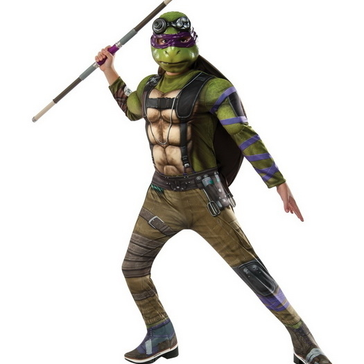 Rubies 245280 Teenage Mutant Ninja Turtles 2 - Donatello Deluxe Movie Version Child Costume (1)