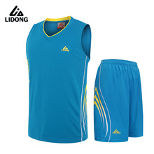 Men Basketball Jerseys Sets Tops And Shorts Suit Sports Breathable Boys Basketball Clothes Adult Sports Vest Custom Name Number