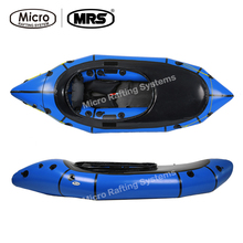 [MRS]Micro rafting systems Alligator 2S boat ultra-light ship boat blue inflatable kayak(China)