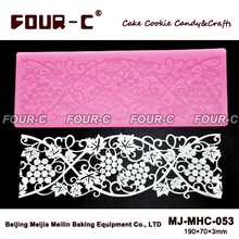 NEW instant lace mold decoration baking tool cake lace mat fondant mold cake decorating tools cake mold