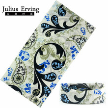 Julius Erving Custom Tube Bandana Adjustable Pet Bandana Scarf 25*49 Cm Camo Tube Scarf Seamless Mask Cap