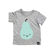 Kids Summer T Shirts Girls Boys Short Sleeve Cotton Tops Pear Swan Print Tees Children Clothing For Kids 1-6 Years 5 Designs