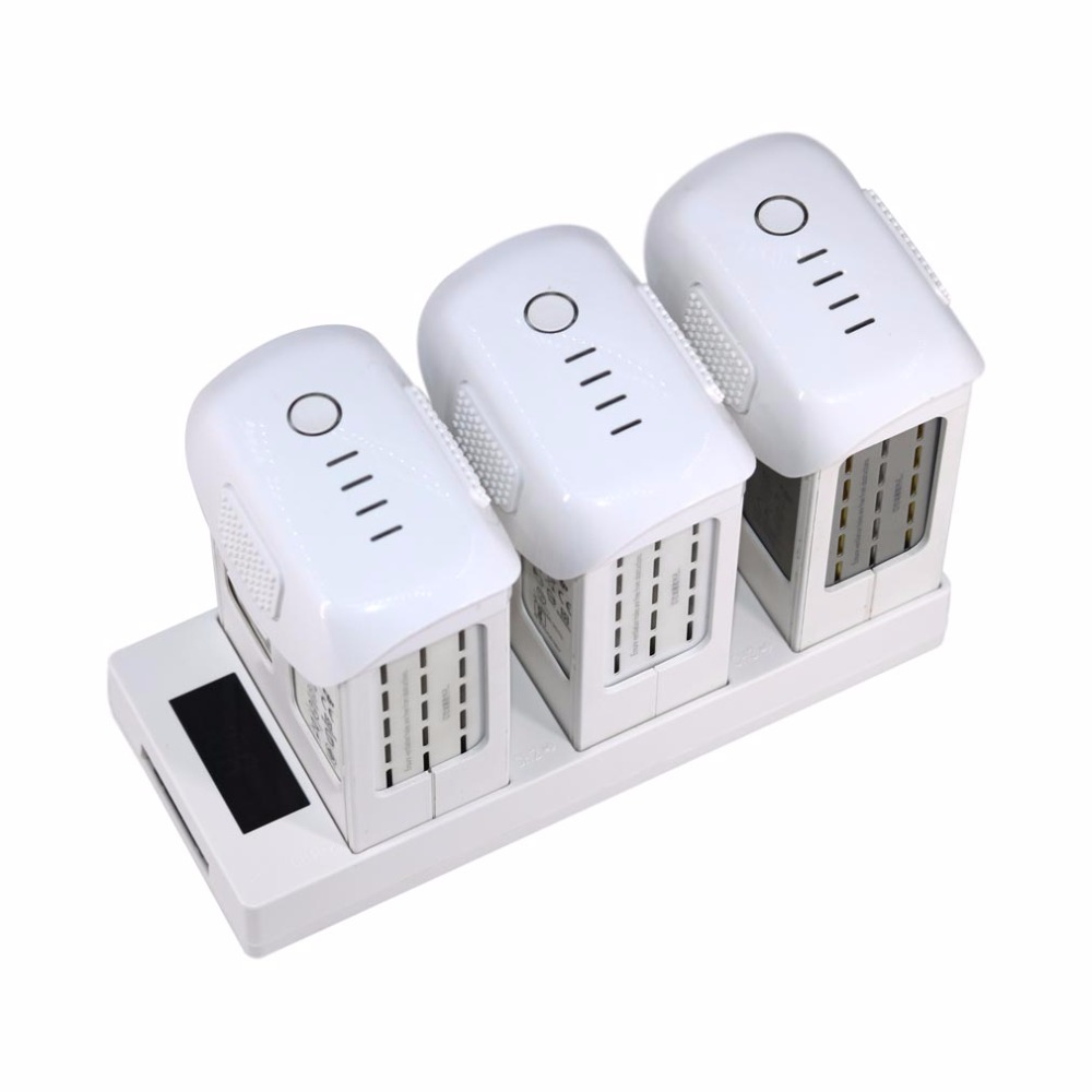 Parallel Charging Board Hub Multi Battery Charger with LED Digital Indicator for DJI Phantom 4 4 PRO 4A Drone Spare Parts
