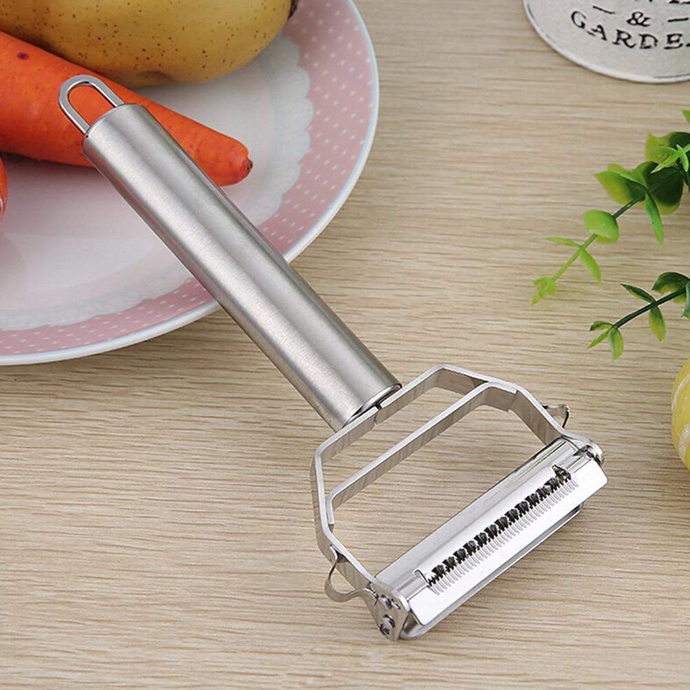 Multifunction Julienne Peeler Stainless Steel Vegetable Peeler 3