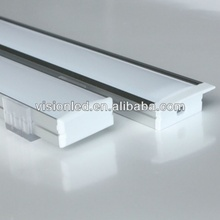 20m(20pcs) a lot, 1m per piece wide aluminum profile for led double row strips, two row led strips light 5050 3528 2835 5630