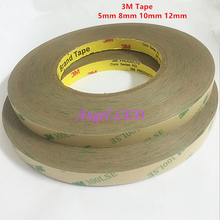 2016 new 50M/Roll 8mm 10mm 12mm Double Sided Tape 3M Adhesive Tape for 3528 5050 ws2811 ws2801 Led strips free shipping