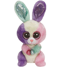 "Pyoopeo Original Ty Beanie Boos 6"" 15cm Bloom the Rabbit Plush Stuffed Doll Toy Collectible Big Eyes Rabbit Dolls Toys"