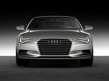 2081B AUDI Front Future Concept Car-Wall Sticker Silk Poster Light Canvas Decoration(China)