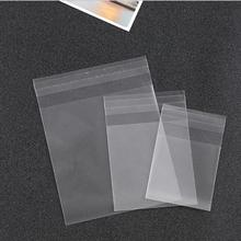 100pcs cookies bag Wedding Candy Bags Party Supplies Decoration Mini Dessert Bags Frosted Plastic Resealable Bags