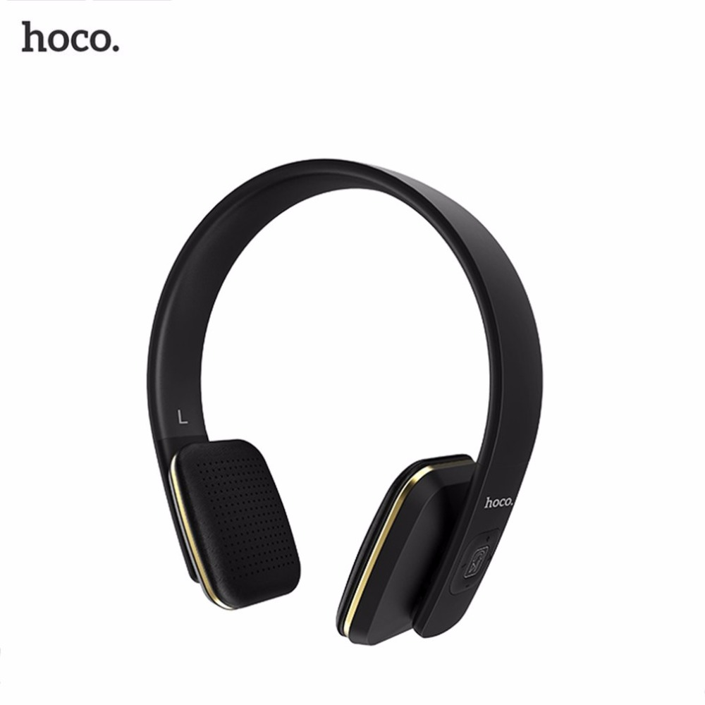 HOCO Wireles Bluetooth Stereo Music Headset Headband Earphone Noise Cancelling Wired and Wireless Easy Conversion Hot Sale<br>