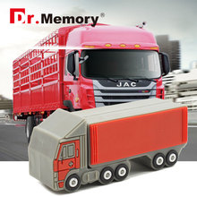 trailer pendrive flash drive 8g 16g 32g 64g usb flash Big truck flash card USB2.0 usb stick personalized gift 2016 new style