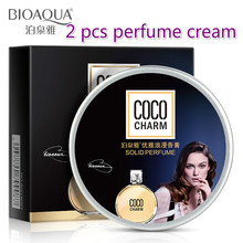 BIOAQUA Mixed flavor classic female perfume Ointment Cream solid perfume moisture soothing skin Care beauty perfumes for women