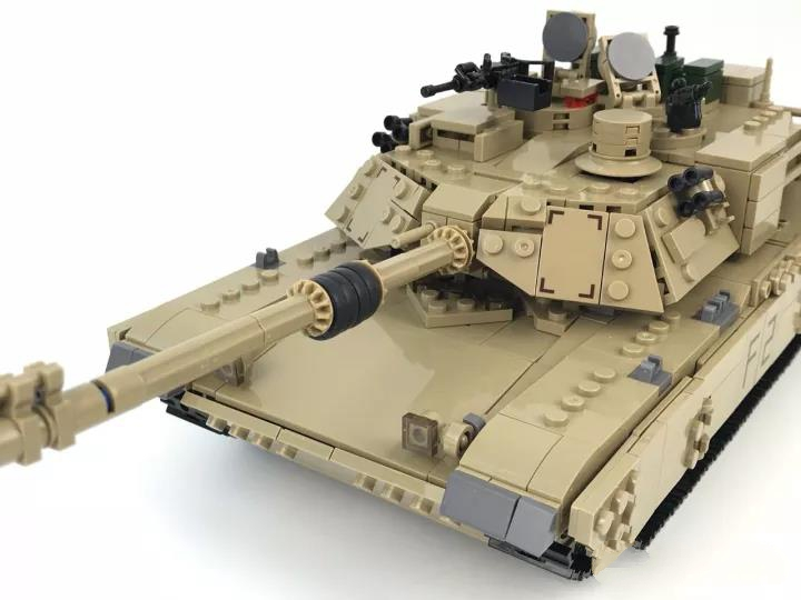 Military Model Block Tank ABS Building Block DIY Army Toys Kids Gift 4 Style Compatible with Lepins Figures  Brick<br>
