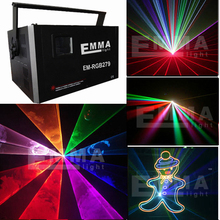 NEW 5.5W rgb big party lights,disco laser/animation laser projector for christmas
