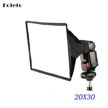 20x30 lambed box flash softbox flash diffusers 20*30cm for canon 580EX/430EX/550EX/540EZ/420EX/380EX nikon sb600 sb800 speedlite(China)