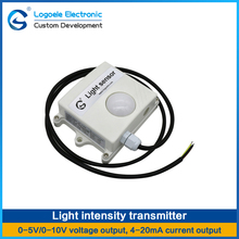 1Pcs Light Intensity Sensor Light intensity acquisition Voltage/Current output Agricultural greenhouses(China)