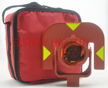 NEW RED color prism AK111 FOR LEICA total stations offset 0mm(China)
