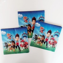 20pcs/bag Patrol dog Paper Napkin Cartoon Party For Kids Birthday Decoration Theme Party Supplies  Patrolling party