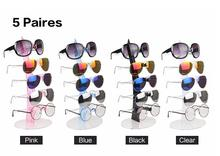 Fashion glasses display holder five layers frame for 3D-glasses show Removable Counter Shop transparent frames Eye Glasses Show