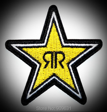 Rock Star ROCKSTAR ENERGY EMBROIDERED IRON ON PATCH BADGE ARM SHIRT CAP HAT SHORTS(China)