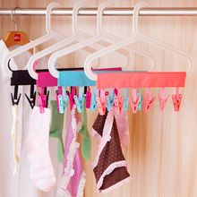Travel will carry six removable cloth rack hanger clip 3 color options