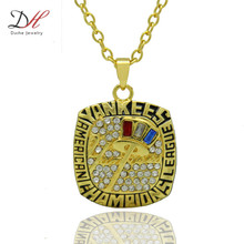 Daihe NC4669 New Arrival Sport Jewelry Derek Jeter 2003 NY American League Championship Necklace For Women Wedding Necklaces(China)