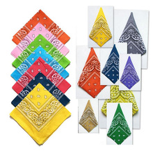 2016 Cotton Bandana Scarf Magic Square Scarf Women Men Fashion Bicycle Motorcycle Male Female Bandanas Headwear Scarves Hijab