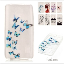 New Bra Butterfly Painted Transparent Soft TPU Phone cases for Huawei Ascend Y635 Y635-CL00 Hollow Silicone Rubber Back covers
