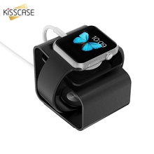 KISSCASE Luxury Aluminum Desktop Stand Charger Dock Station For i Watch Holder Bracket For Apple Watch Bracket Mount Holder