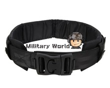 Airsoft Tactical 1000D Nylon Molle Duty Belt With Waist protector Adjustable High Quality Nylon Cummerbunds(China)