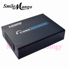 SCART to HDMI Converter Splitter 5V 1A Power Supply Scaler Box Video Converter for NTSC / PAL / SECAM V36 Support 3D 1080P HDTV