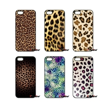 For Samsung Galaxy Note 2 3 4 5 S2 S3 S4 S5 MINI S6 S7 edge Active S8 Plus Gold Yellow Pastel Leopard Print Cell Phone Case(China)