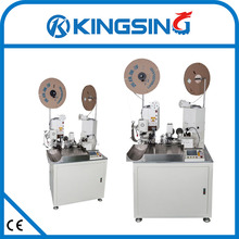 Full Automatic Dual Wire Stripping and Crimping machineKS-T308Free shipping by DHL air express (door to door service)