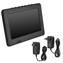 LEADSTAR ISDB-T 7 Inches Car Portable TV Rechargeable Digital Color Television Player TFT-LED Screen with EU US Adapter Optional
