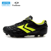 TIEBAO Outdoor Sports Soccer Shoes FG & HG & AG & S Soles Football Cleats Men Women Breathable Training Football Boots Sneakers
