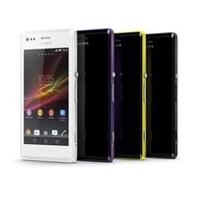 Original Unlocked Sony Xperia M C1905 C2005 Cell Phone Dual Dual-core 4.0''Touch Dual/Single SIM android4.1