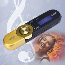 RUIZU USB MP3 player LCD Screen 16GB Support Flash TF Player MP3 Music Play FM Radio  Mini Gold Color High Quanlity MP3 Player