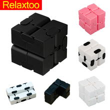 Newest Infinite Cube Fidget Infinity Cube Plastic Creative Magic Cubes Office Flip Cubic Puzzle Anti Stress Relax Toys(China)