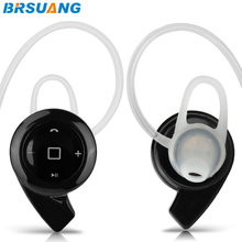 200pcs/lot Universal Bluetooth V4.0 Earphone Mini Wireless Stereo Headphone With Mic For iPhone 4s 5 5c 6 6s plus OPPO ZTE MEIZU(China)