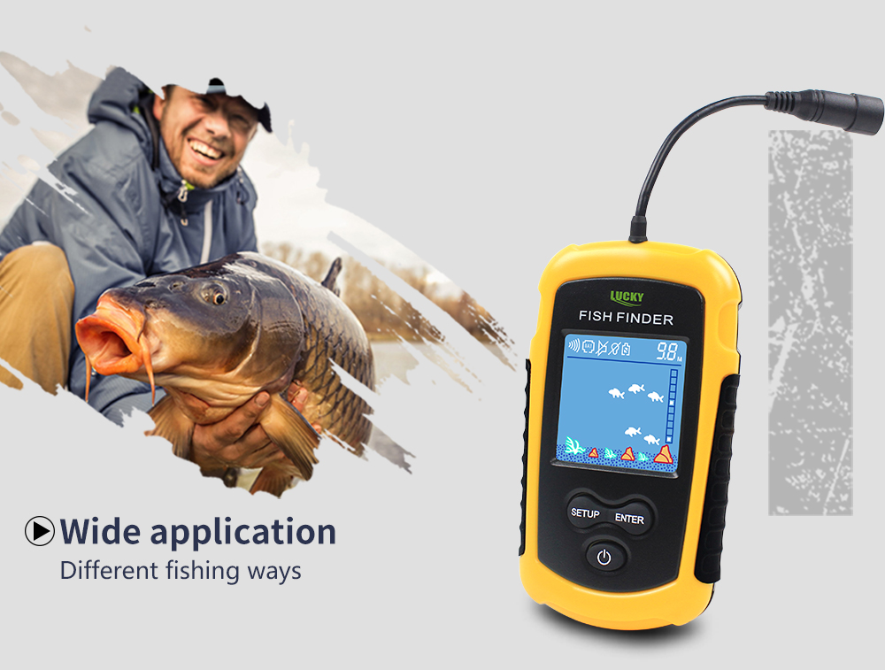 Findfish Wireless Portable Sonar Fish finder (4)